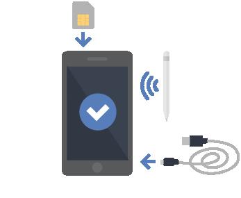Intégrer les accessoires et les cartes SIM