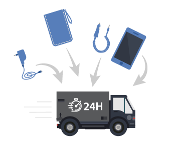 Remplacer les smartphones en J+1 avec votre configuration